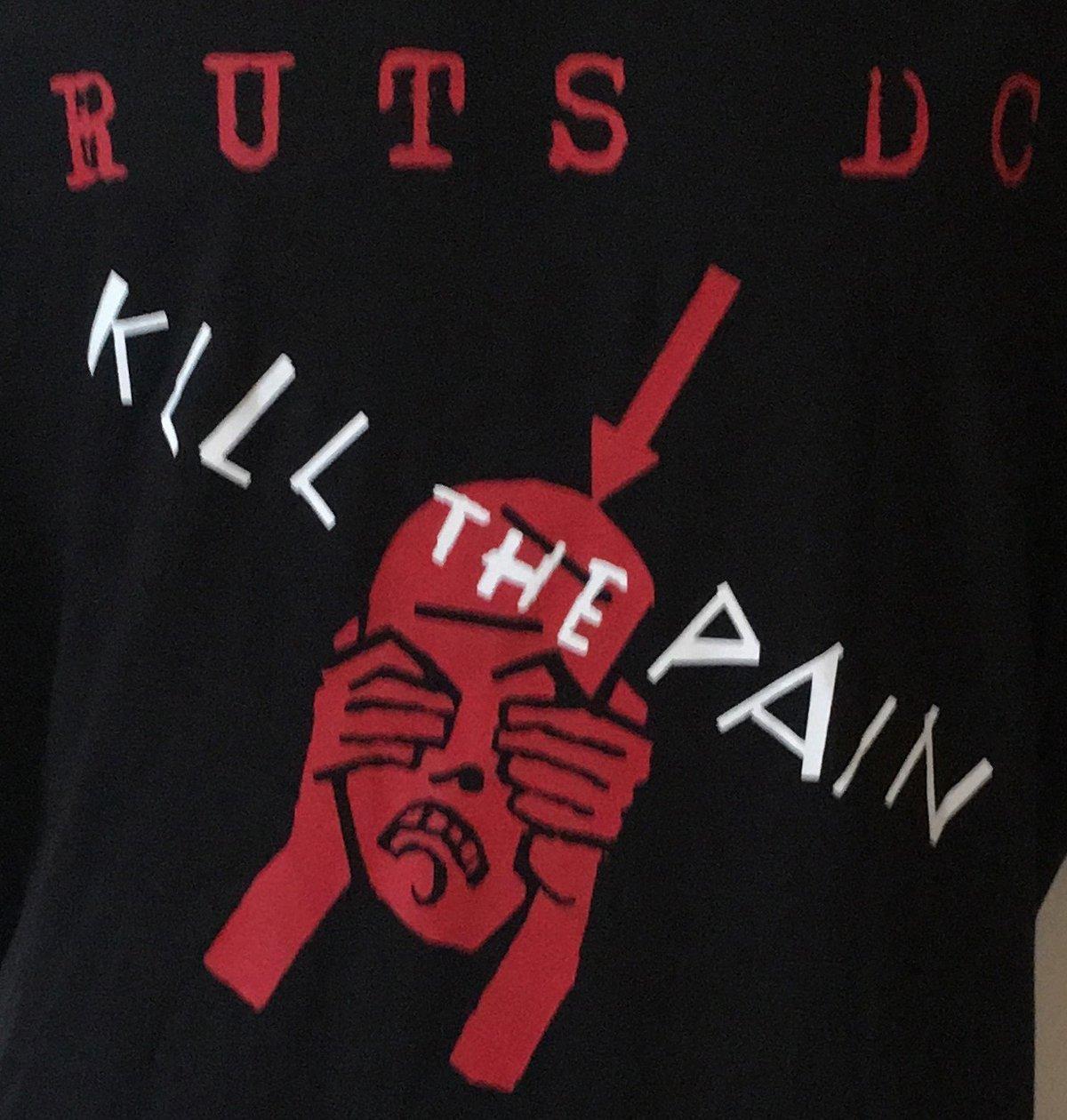 Image of RUTS DC 'Kill The Pain' T-Shirt