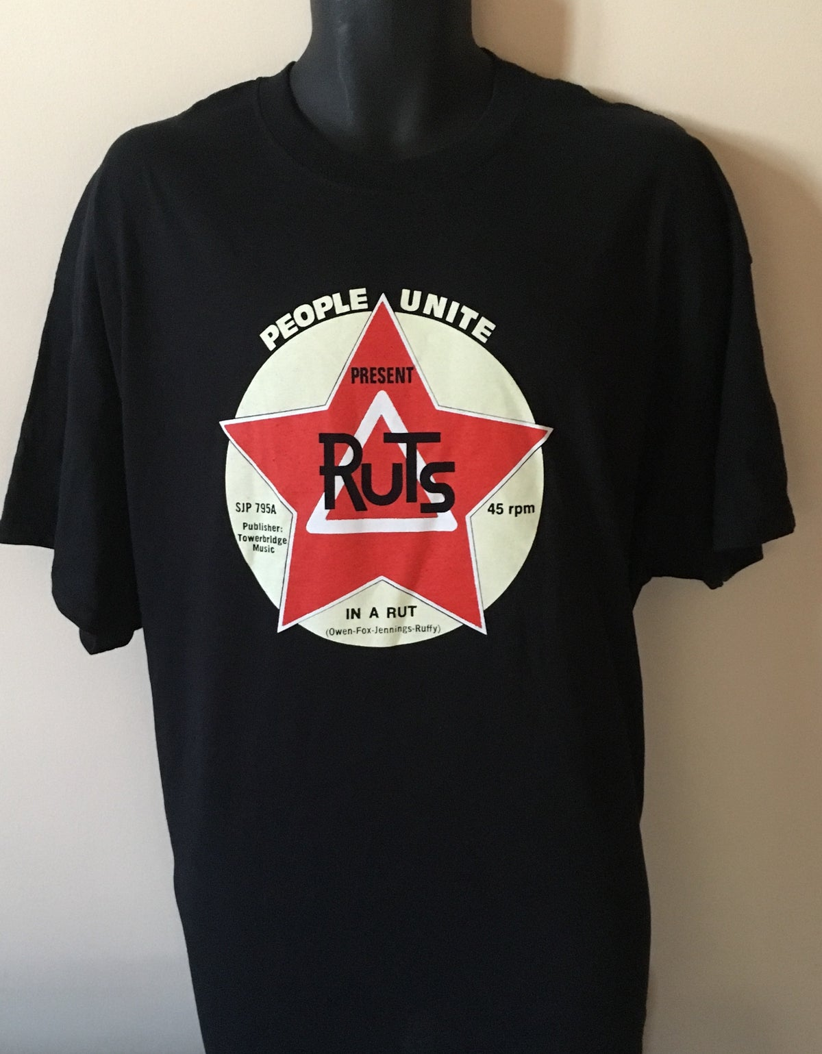 Image of RUTS 'People Unite' T-Shirt