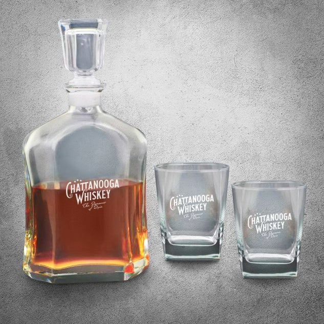 Image of Chattanooga Whiskey Decanter set