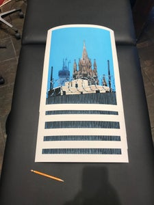 Image of 1 World Trade Center/ St. Agnes Church Print
