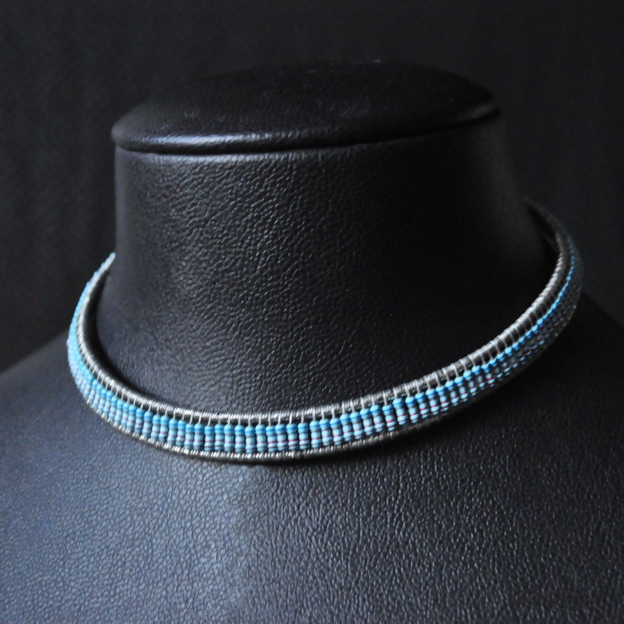 Image of Egypt Necklace - Blue