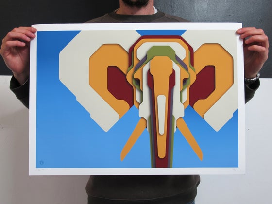 Image of Technicolour Pachyderms V.2