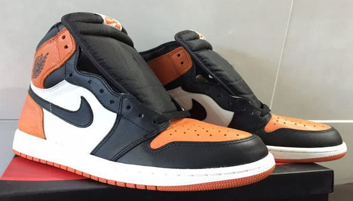 hot sale online c0902 a83a5 Nike Air Jordan 1 Shattered Backboard CUSTOMS (MADE TO ORDER, SNEAKERS  PROVIDED)