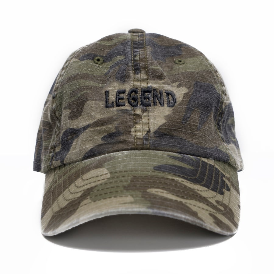 Image of LEGEND Hat - Camo