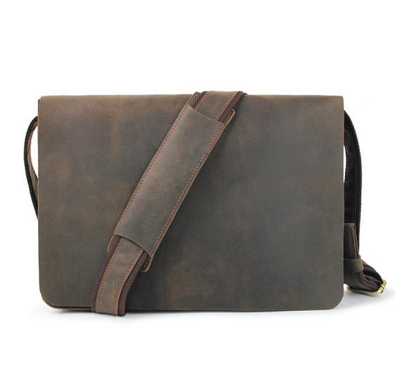Image of Leather Messenger Bag d79c8d8c052d5