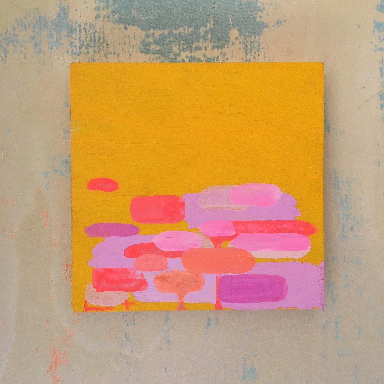 Image of Tiny Painting No. 63 (yolk, opera, bubblegum)