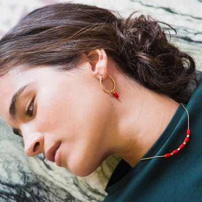 Collar Amapola - Srta.Bolitas