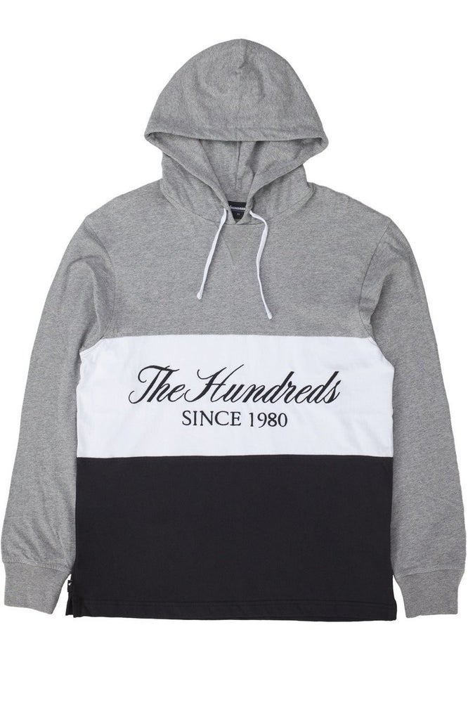 Image of THE HUNDREDS - ELLIS HOODED (ATHLETIC HEATHER)