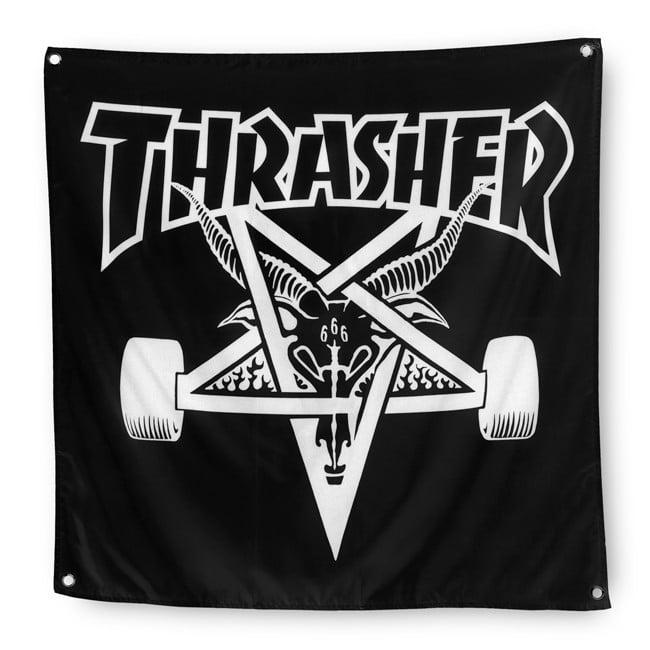 Image of THRASHER - SKATE GOAT BANNER