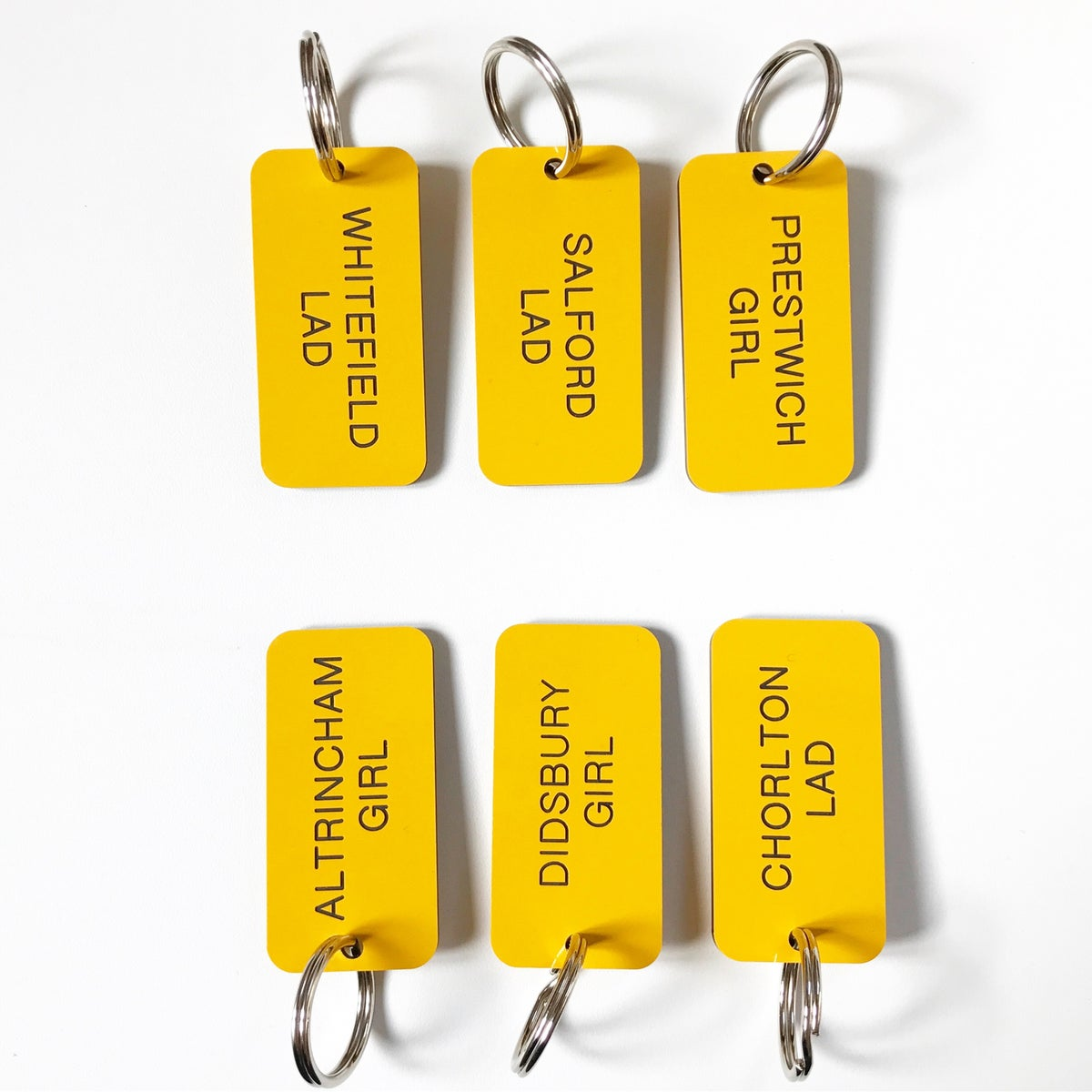Image of SUBURBAN LOCKER KEYRING