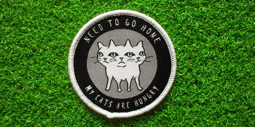 """Image of """"NEED TO GO HOME"""" Patch"""