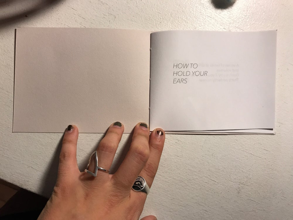 Image of How to Hold Your Ears / Natasha Mijares