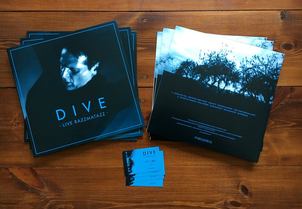 Image of Dive - Live Razzmatazz LP