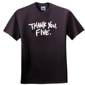 Image of Thank You Five T-shirt
