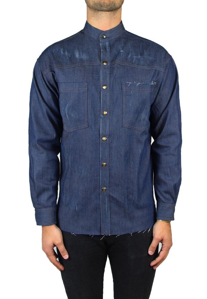 Image of CAM001 CAMICIA ICONIC DENIM
