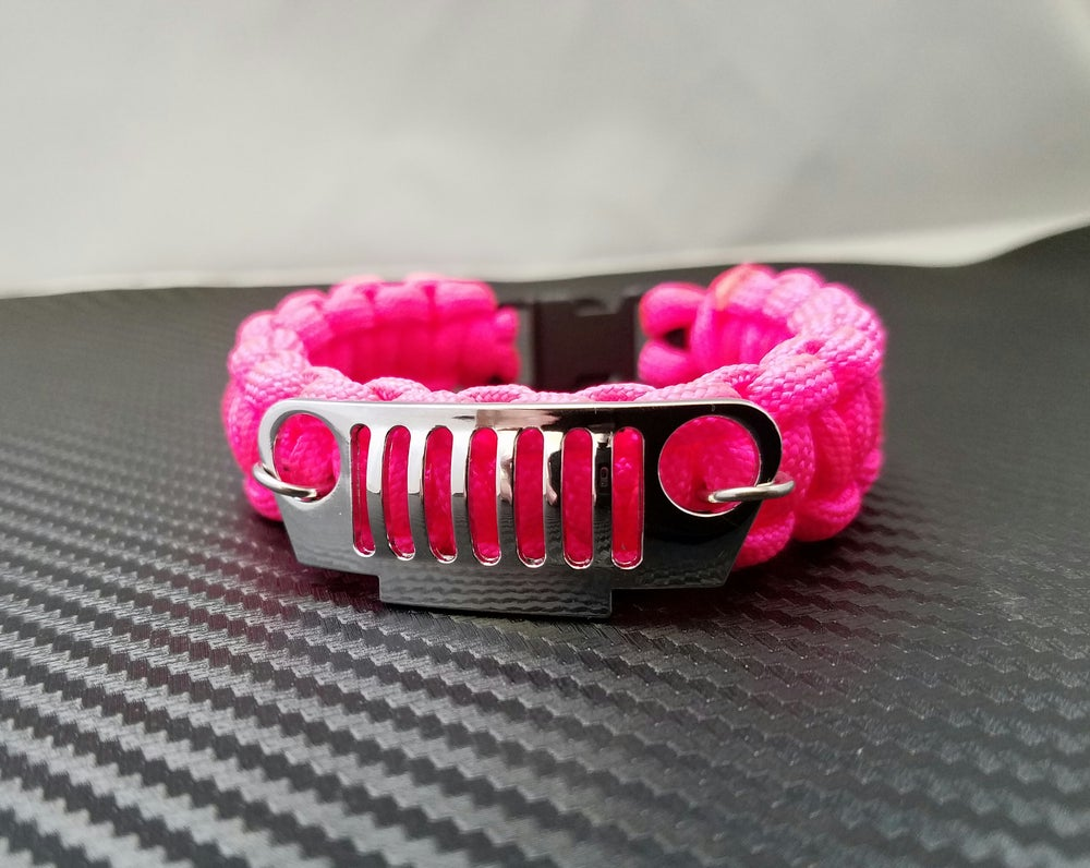 Image of Paracord Jeep Grill Bracelet