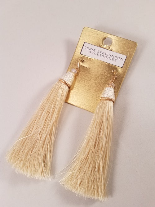 Image of Thread & Tassel Earrings