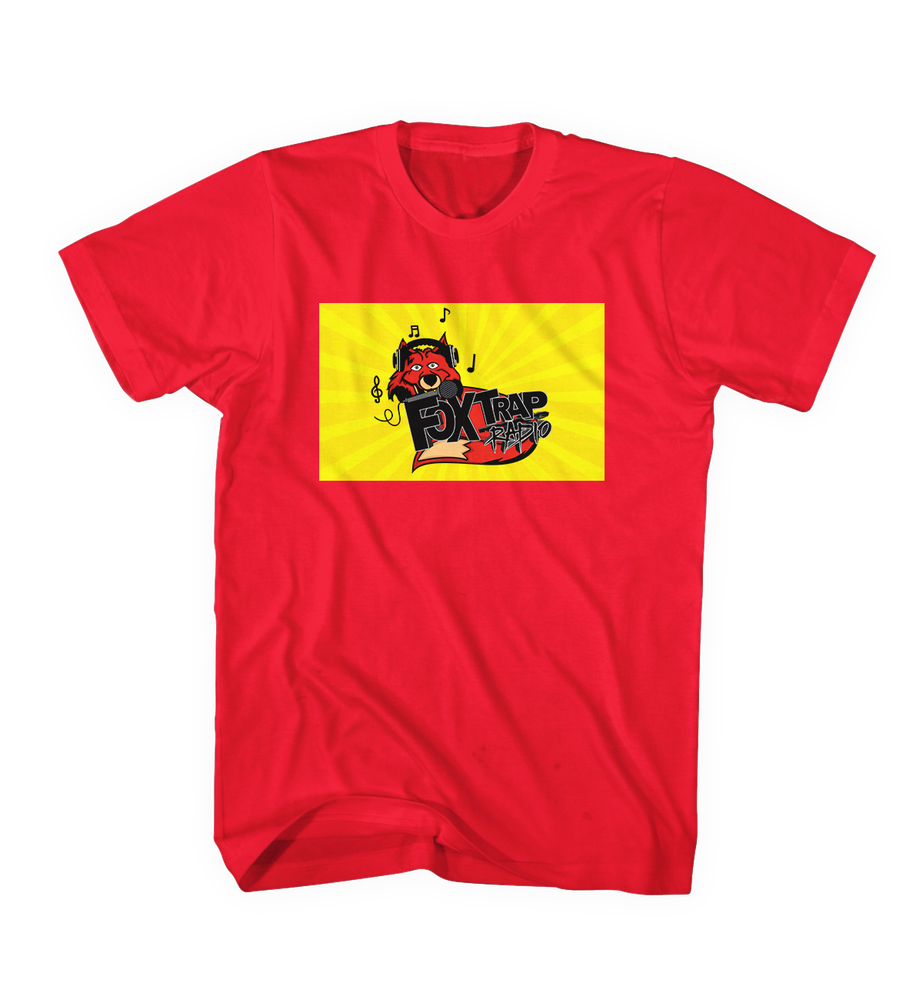 Image of FoxTrap Official Red Tee