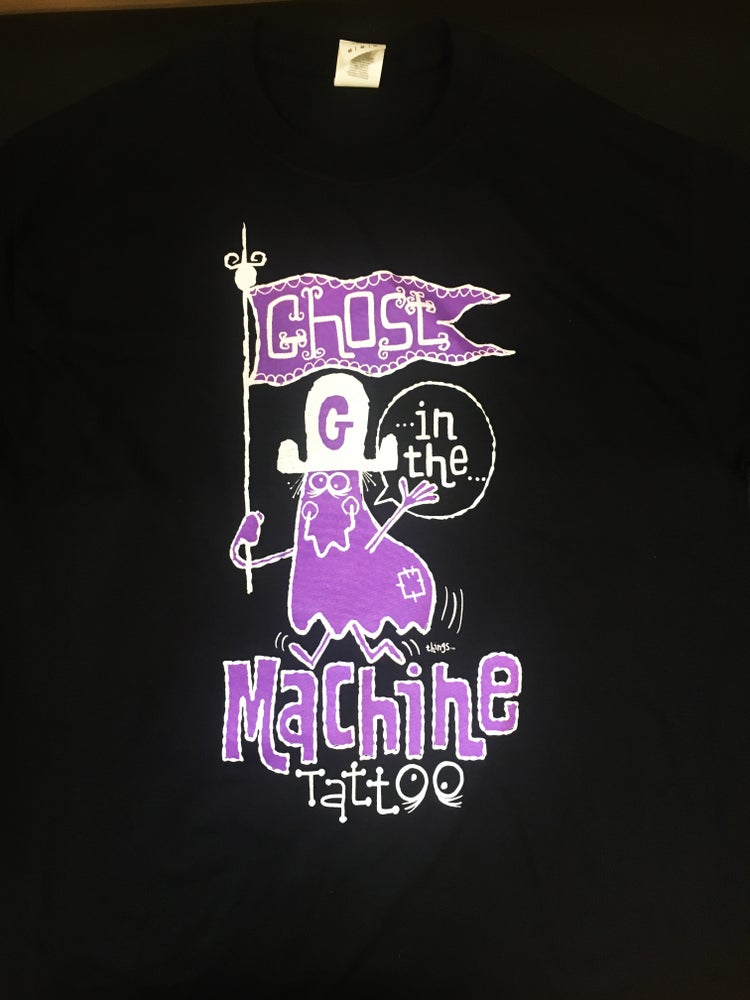 "Image of Ghost In The Machine ""GRAPE GHOST™ "" Shirt"