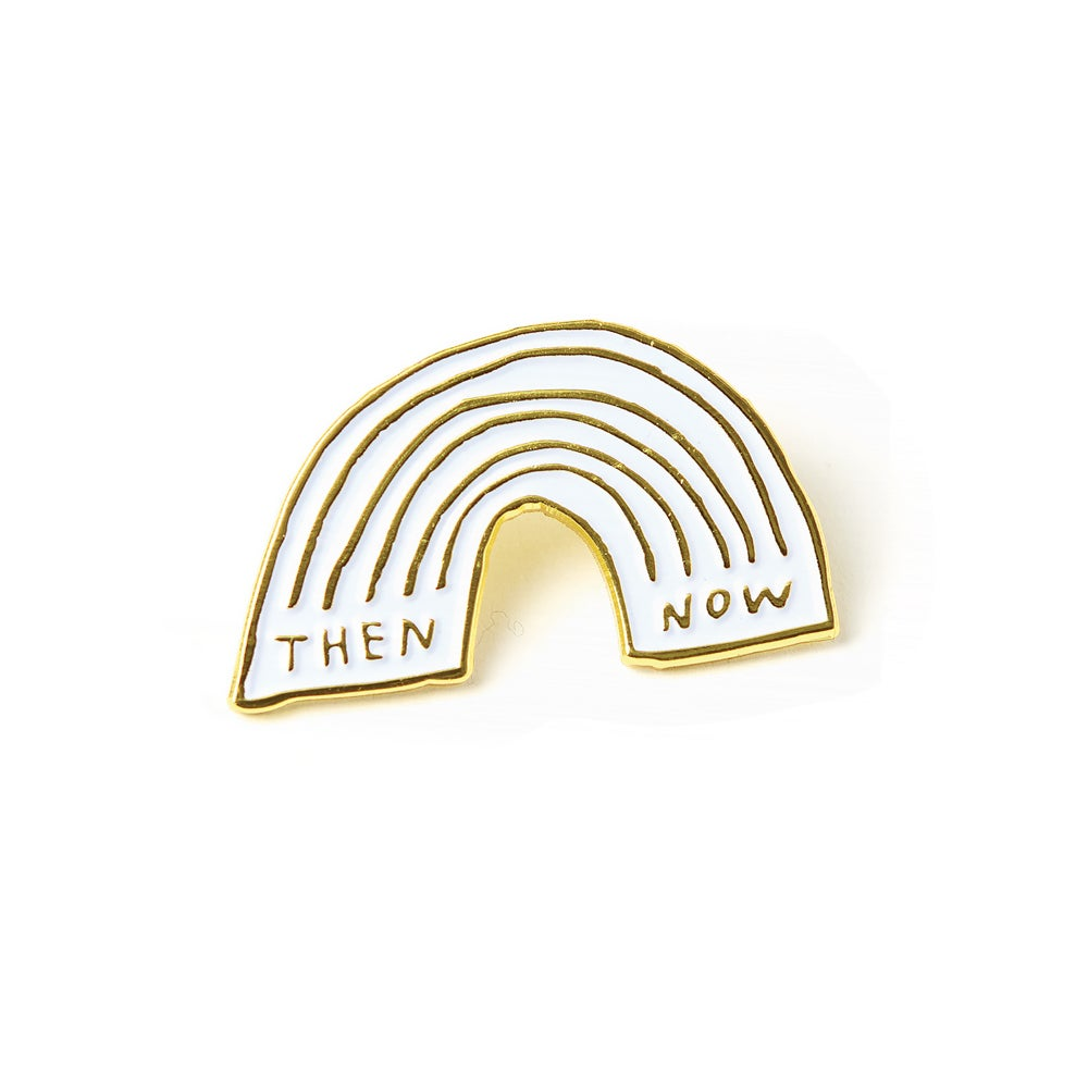 Image of THEN & NOW Enamel Pin