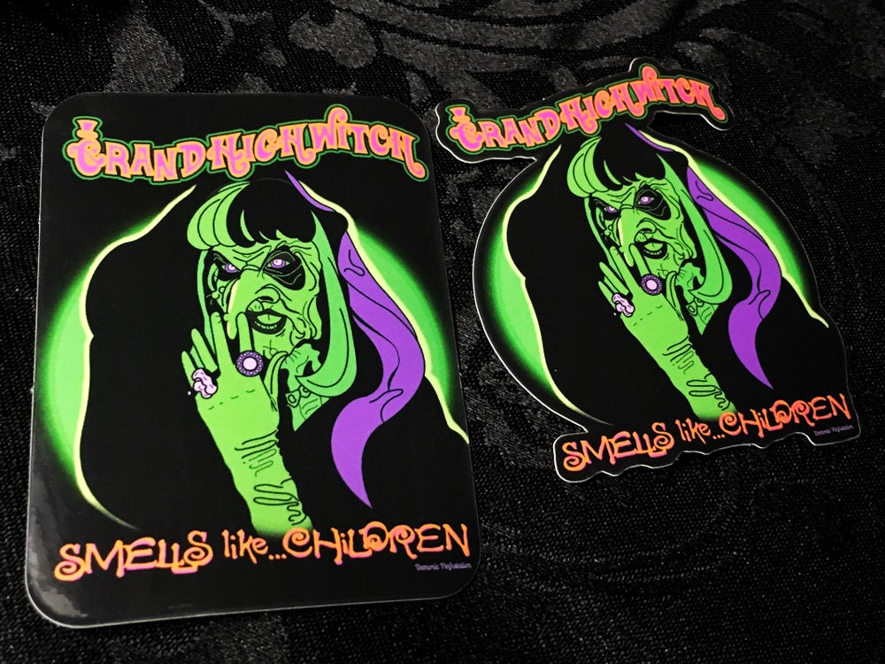 Image of The Grand High Witch Sticker