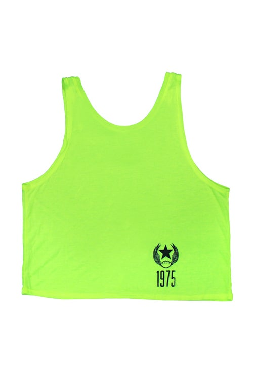 Image of 1975 A.C. Ladies Neon Crop Top