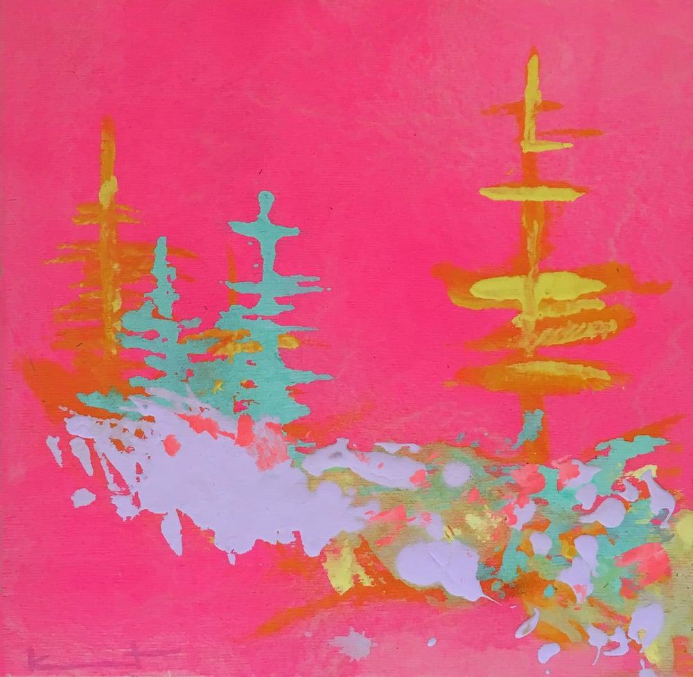 Image of Pink Sky Night No. 16 (opera, bright sun, lilac)
