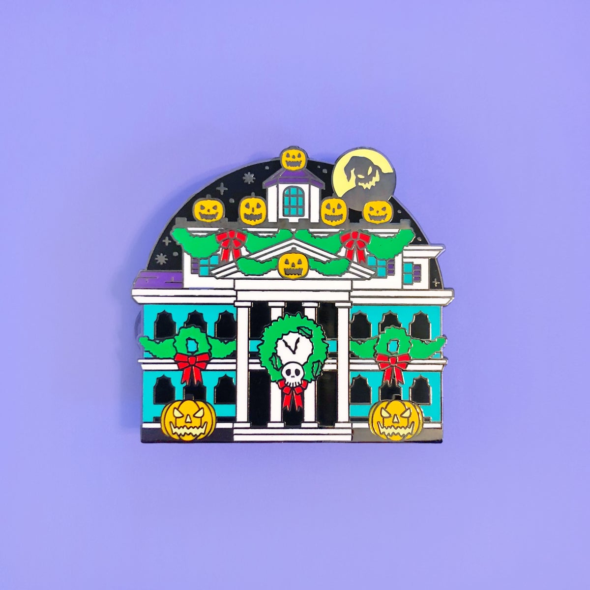 Image of Happy Holiday Haunts Pin