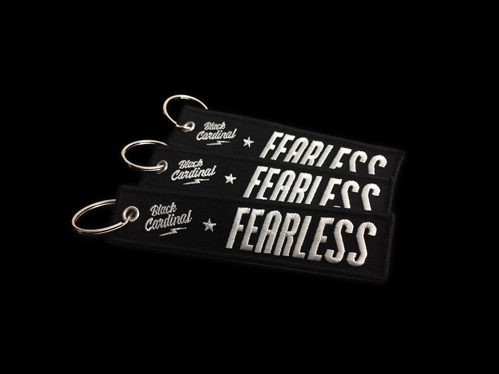 Image of Fearless Driver keychain