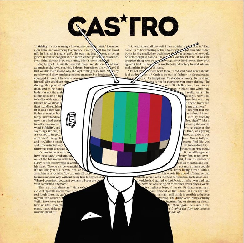 Image of CASTRO - INFIDELITY VINYL LP with CD Included