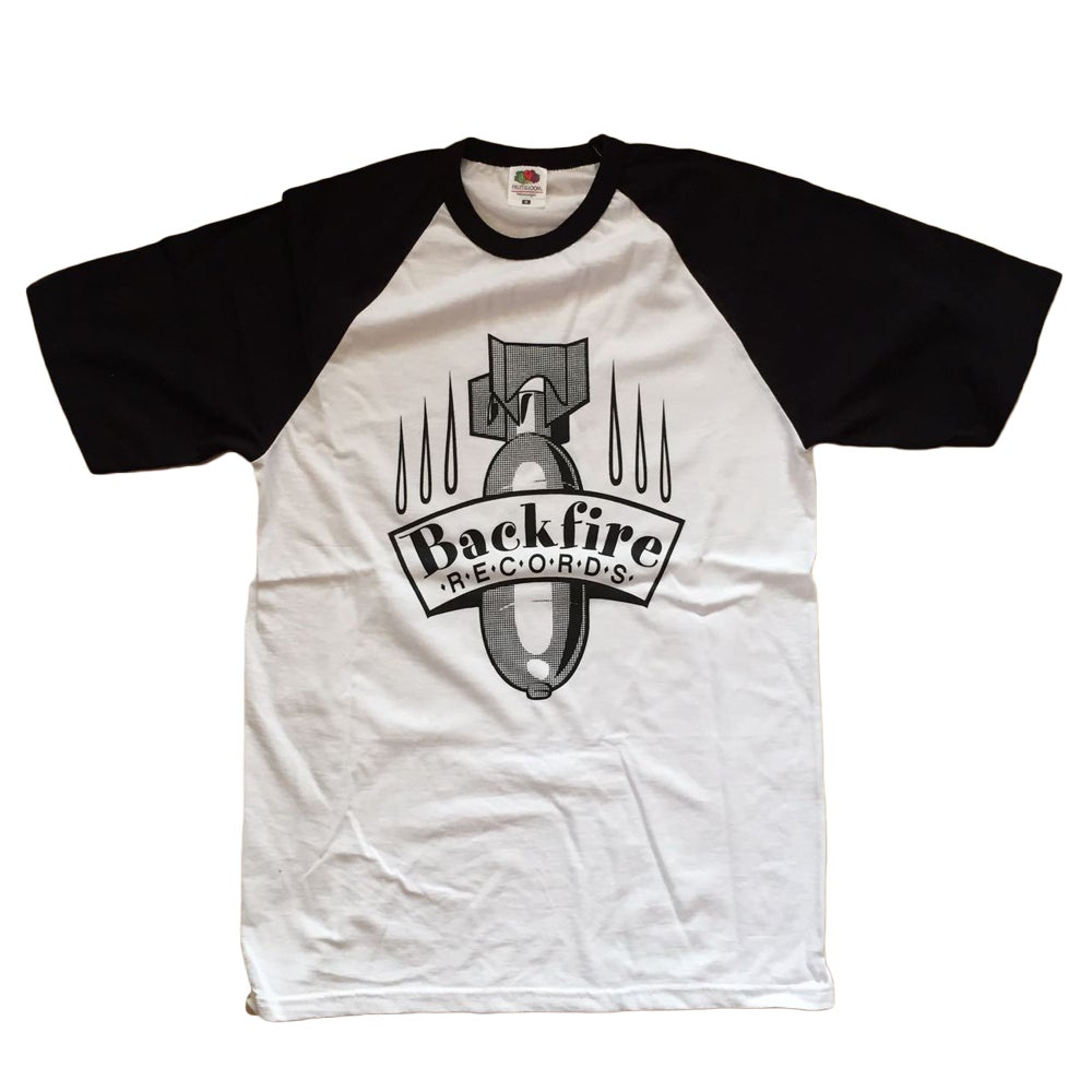 Image of Backfire Records Baseball Shirt