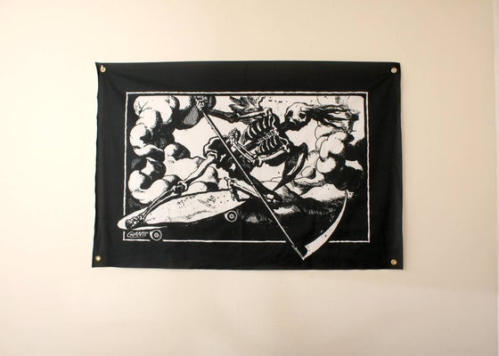 "Image of GIANTS - ""Death Shreds"" HANGING WALL FLAGS"
