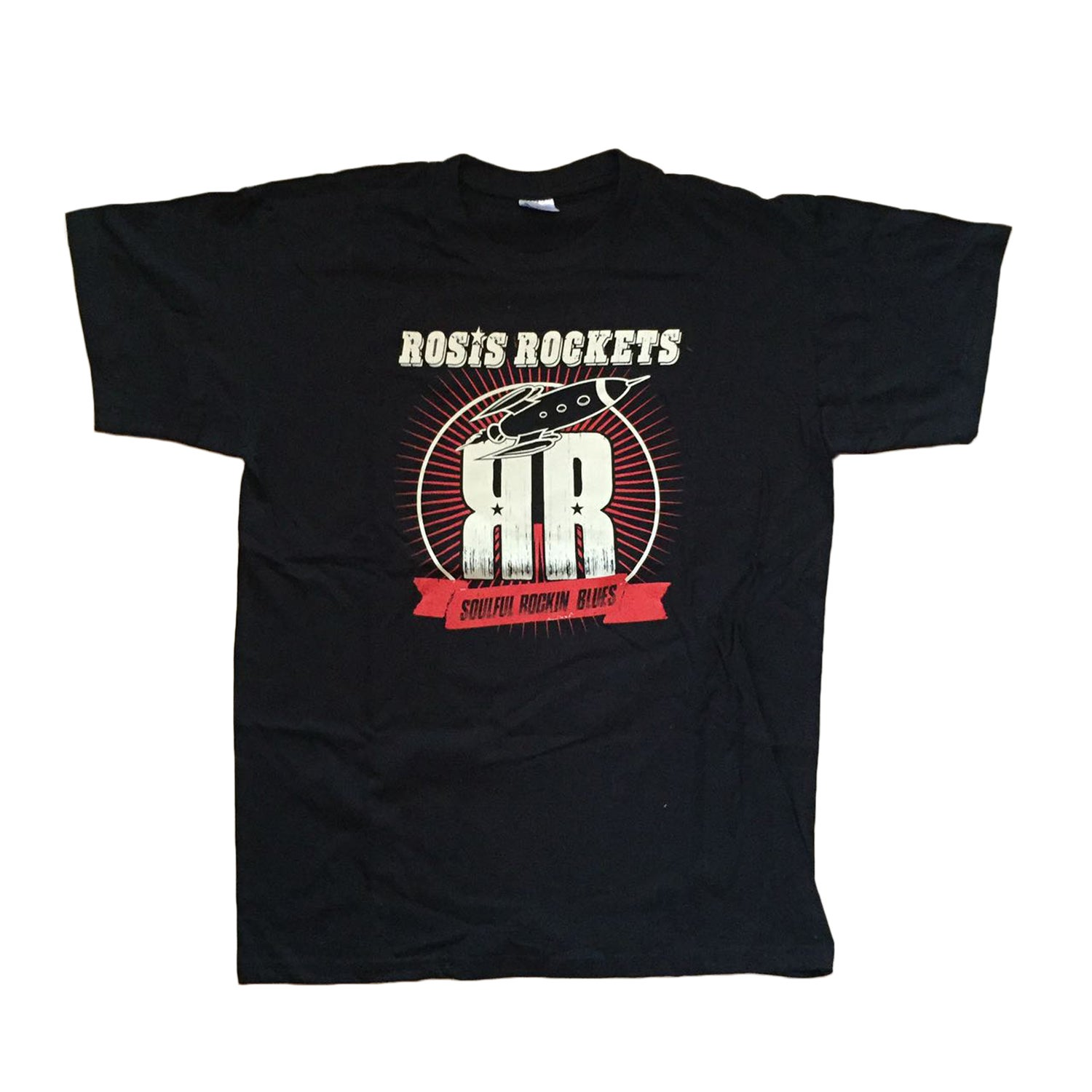 "Image of Rosis Rockets ""Bandshirt"" Black"