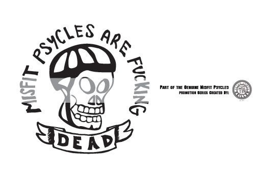Image of Misfit Psycles Sticker Collection