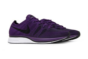 "Image of Nike Flyknit Trainer QS ""Night Purple"""