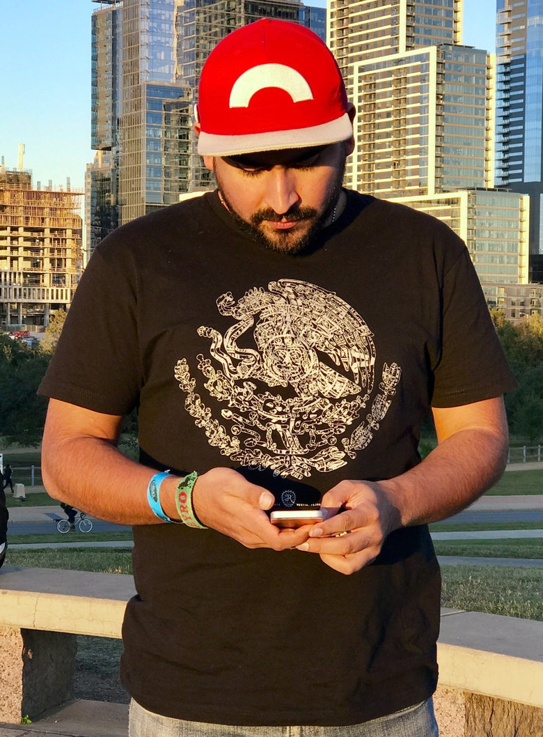 Image of Escudo Azteca - Tee shirt