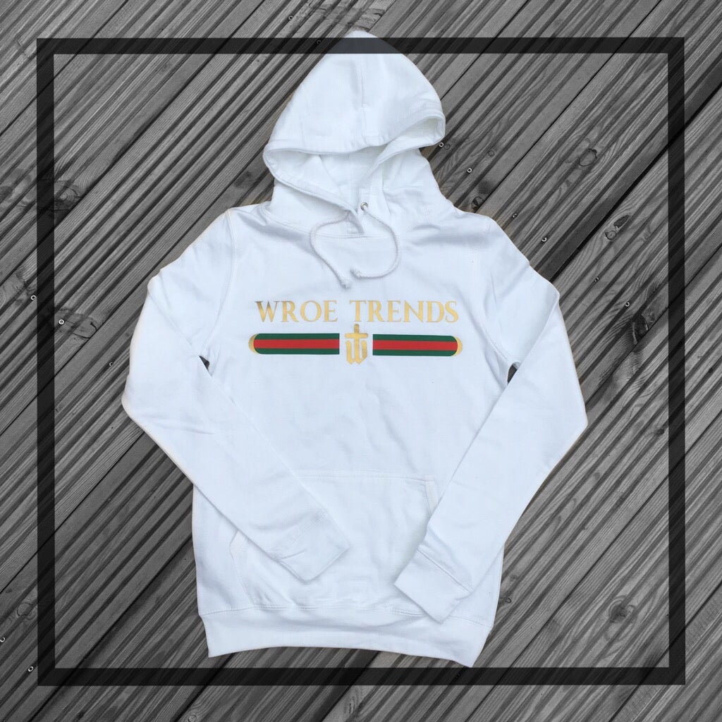 Image of INSPIRED HOODIE • WHITE