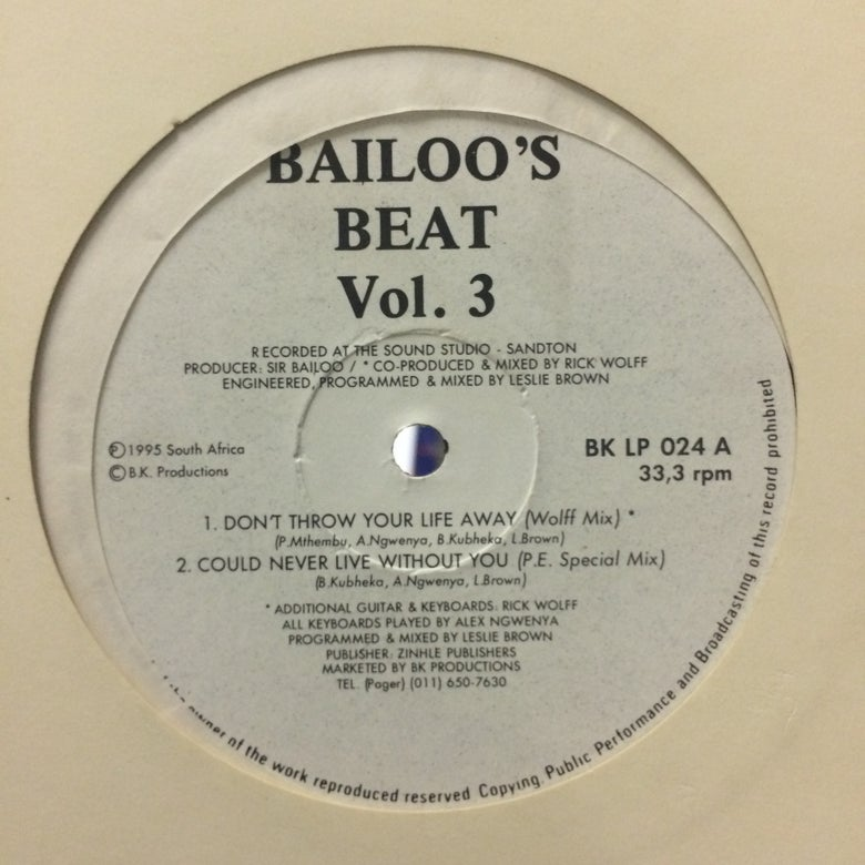 Image of Bailoo's Beat Vol 3