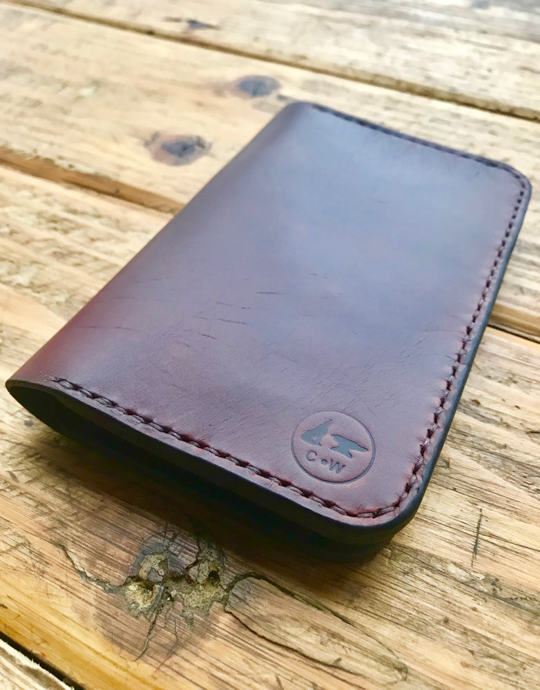 Image of Field Notes Wallet Pocketbook - Horween Chromexcel Horse Butt or Veg Tan Leather