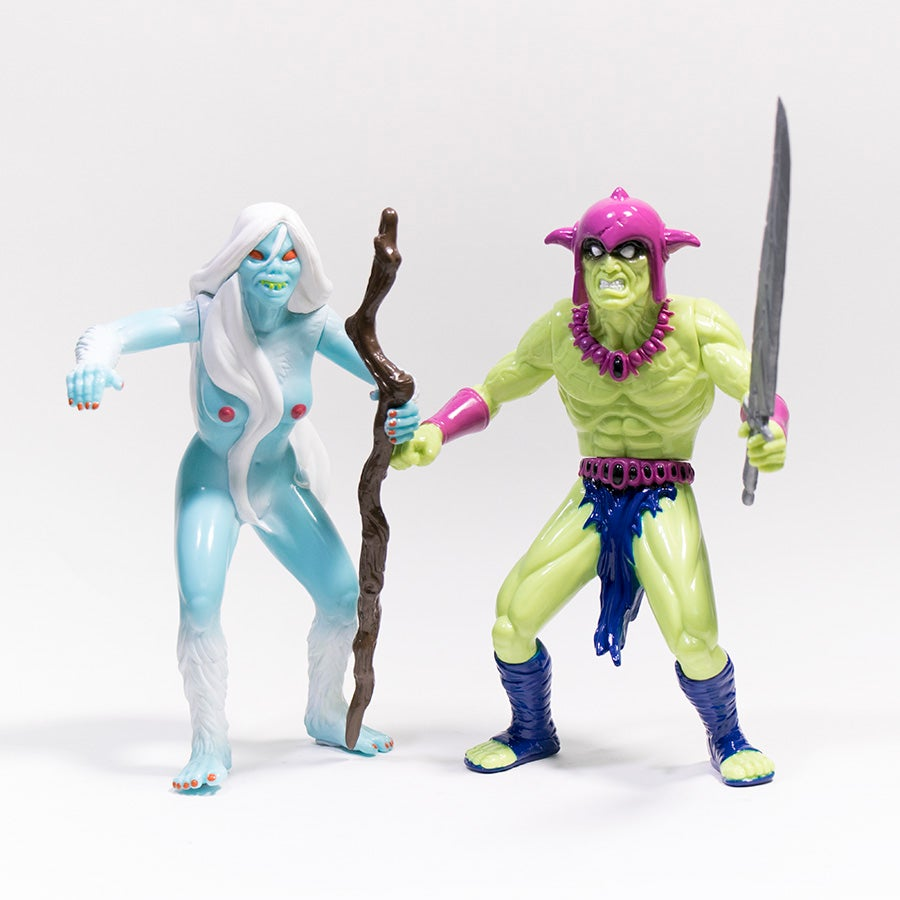 Image of HIGH ON FIRE BALTHANON & DZUNUKWA BLACK PLOT 2 PACK