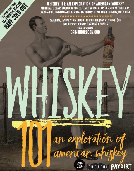 Whiskey 101 - 01/13/18