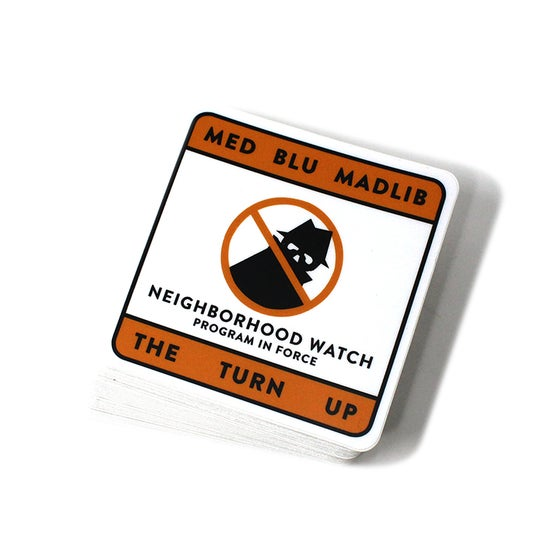 Image of Bad Neighborhood Watch Stickers ( 15 Stickers )