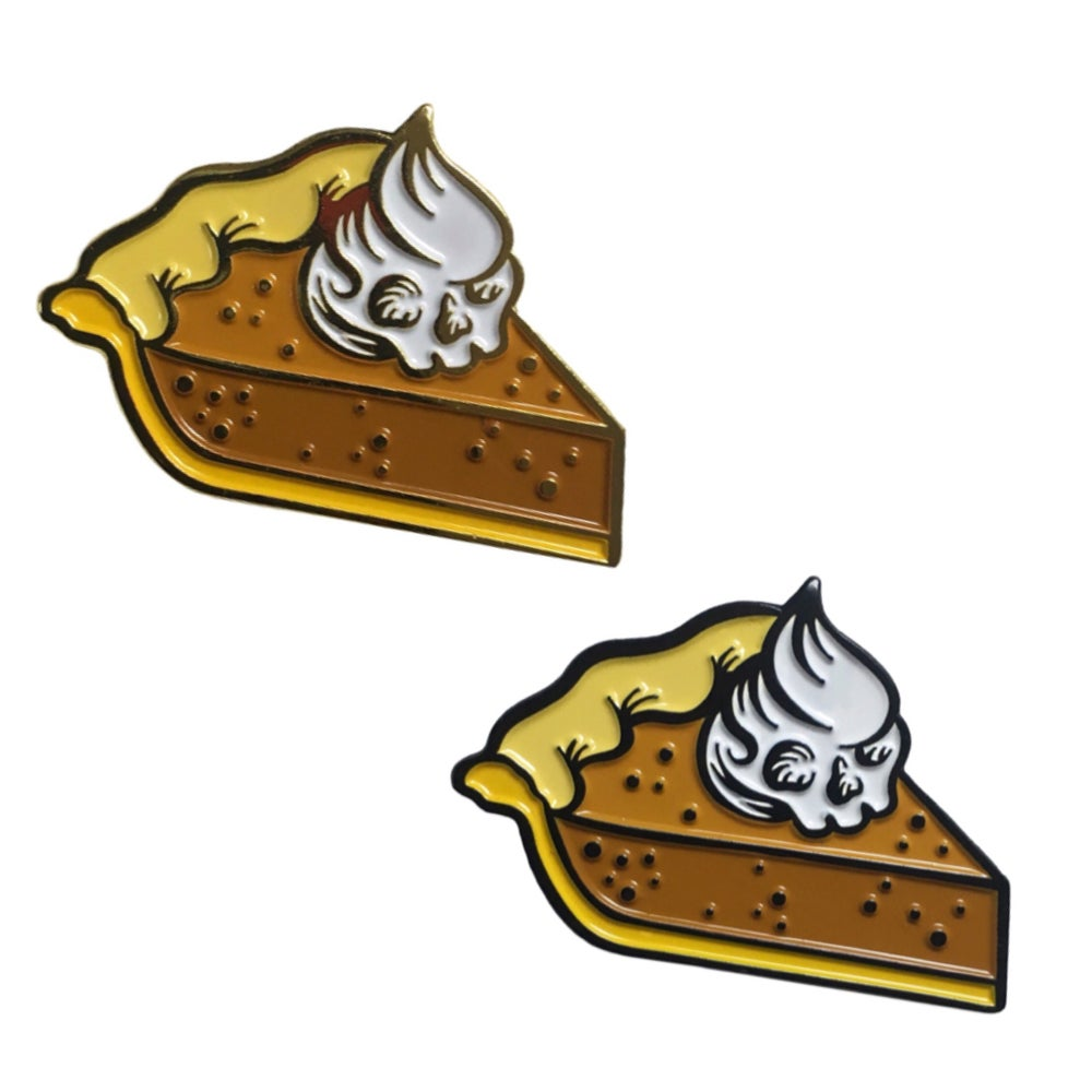 Image of Deadlicious Slice - Lapel Pin