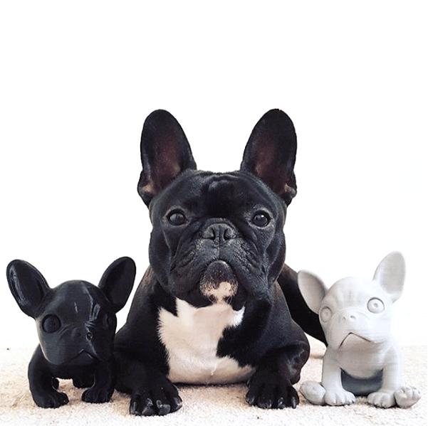Image of Sitting Dog Figures