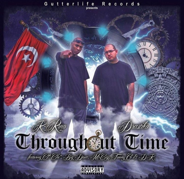 """Image of Throughout time"""" Ep album"""