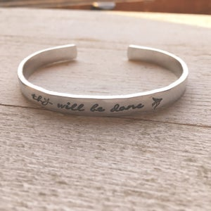 Image of Thy will be done bracelet