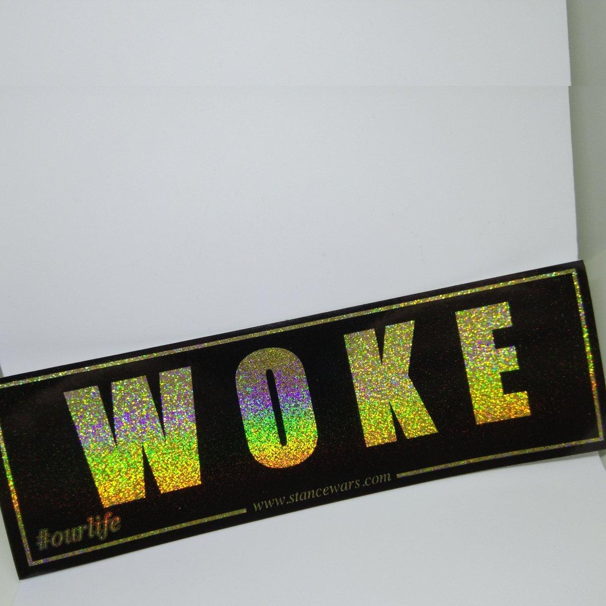 """Image of #Twenty17 """"WOKE"""" - Black Series"""