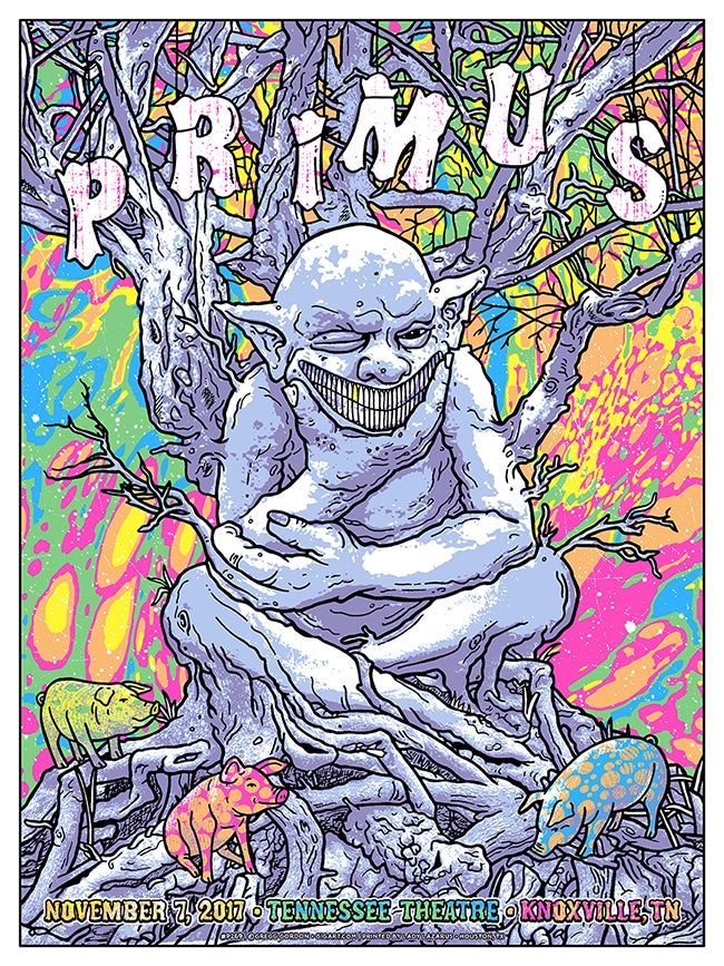 Image of Primus 2017 Knoxville TN