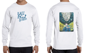Image of YALLFest 2017 Long Sleeve White T-Shirt