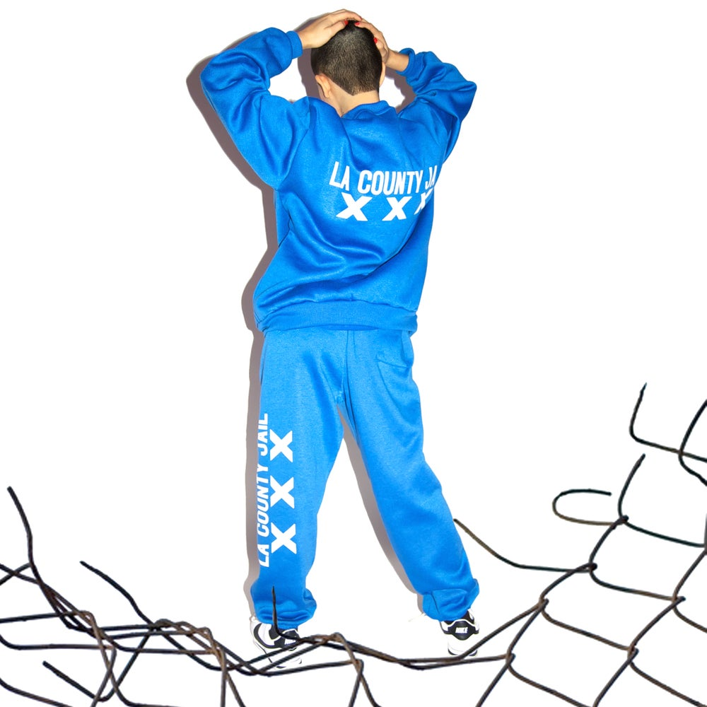 Image of LA COUNTY JAIL XXX crew neck